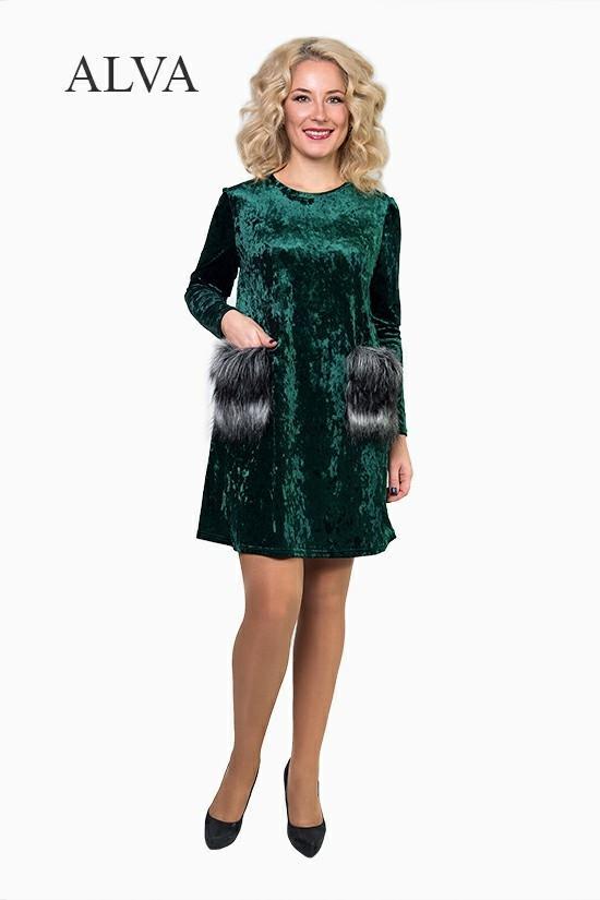 Платье Монти