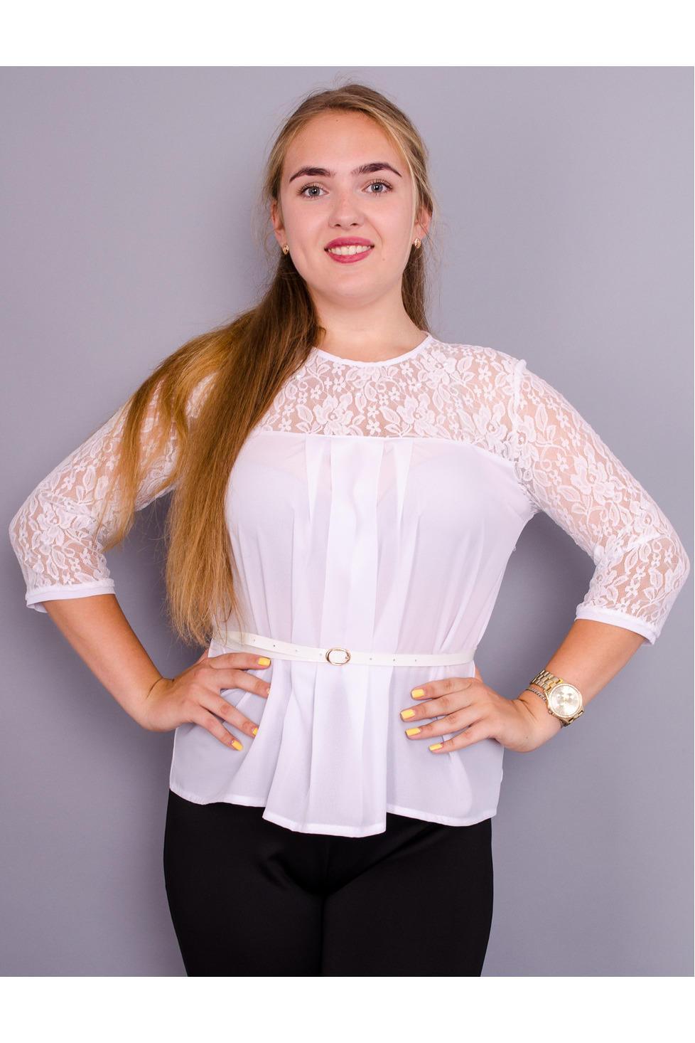 блузки женские большие размеры купить недорого